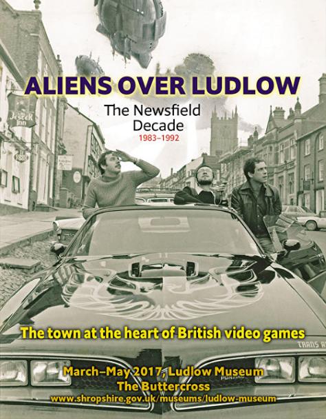 Aliens Over Ludlow - handbill