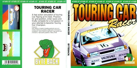 Atari ST Touring Car Racer (Byte Back, 1991)