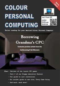 CPC fanzine, issue 2