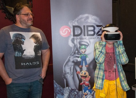 DIBZ presented a look at one possible future of gaming, with VR