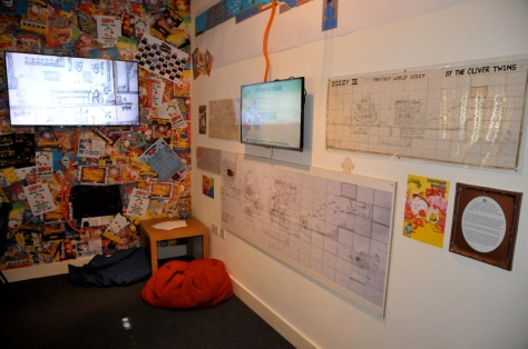 Maps and more in the Dizzy Room