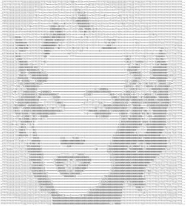 Marilyn Monroe in ASCII art (click to enlarge)