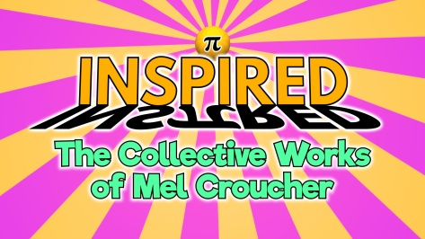 Mel Croucher intro title card