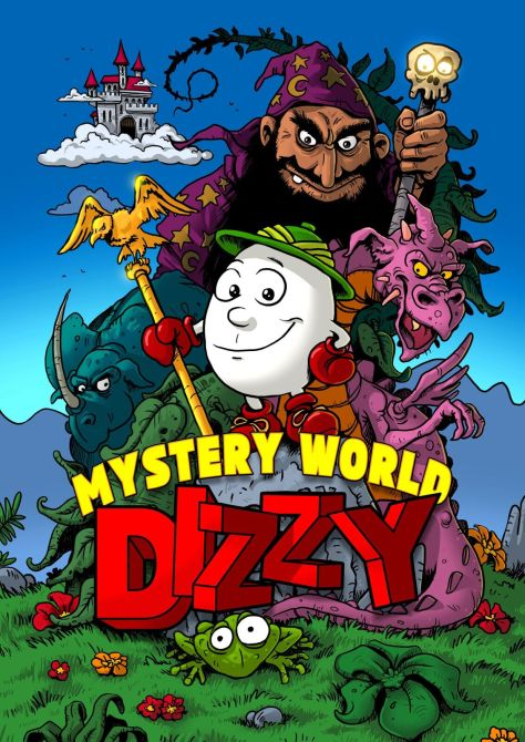 Mystery World Dizzy fan art by Peter Gratkiewicz (PIT)
