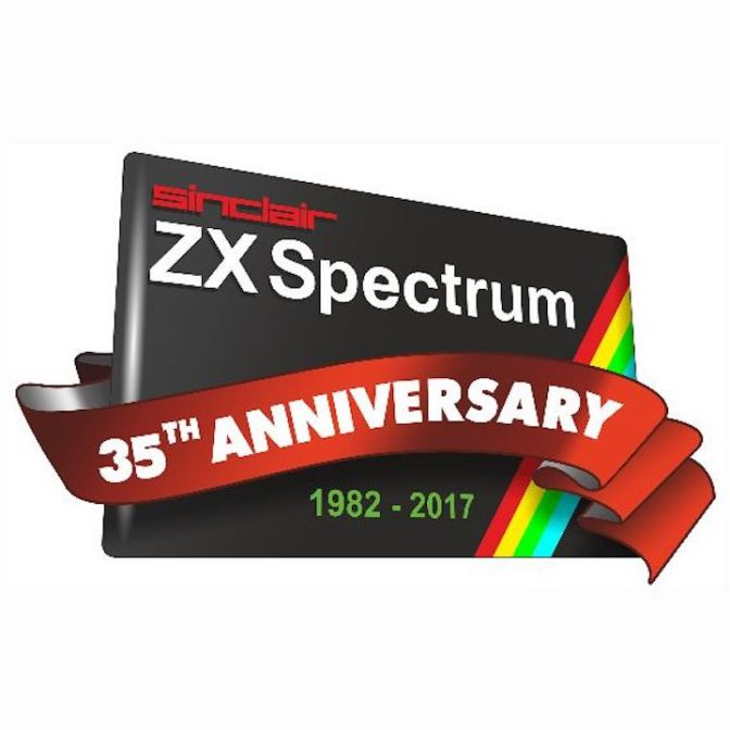Sinclair Spectrum 35th Anniversary logo