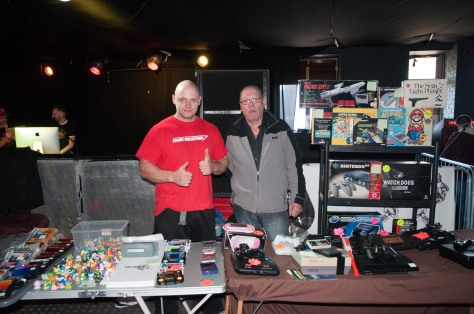 Traders like Jason (left) and Geoff Nicholls of JP gaming often put in an appearance at the Retro Station and other events