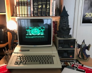Apple IIe adventurer