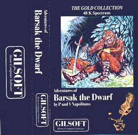 Gilsoft's Adventures of Barsak the Dwarf