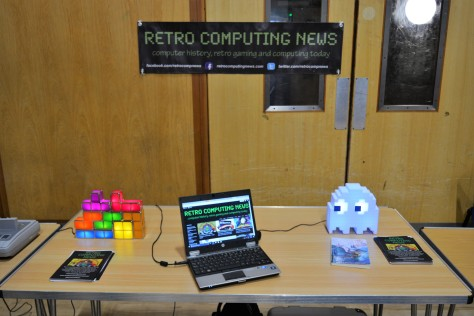 The Retro Computing News table at Recursion 2017